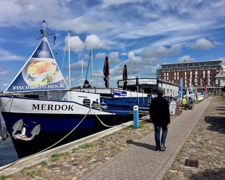 Fischkutter Merdock im Hafen Barth Deutschland