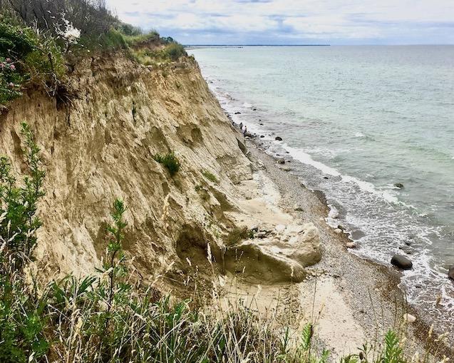 Fischland Steilküste Abbruch bei Wustrow Ahrenshoop Deutschland