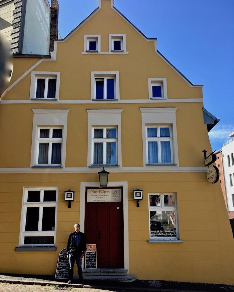 Hafenkneipe Zur-Fähre Die älteste Hafenkneipe Europas Stralsund Deutschland