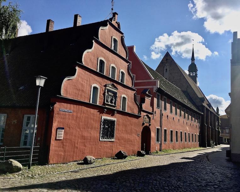 Heilgeisthospital Kloster-zum-heiligen-Geist Stralsund Deutschland