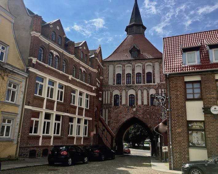 Kütertor Stralsund Deutschland UNESCO-Weltkulturerbestätte