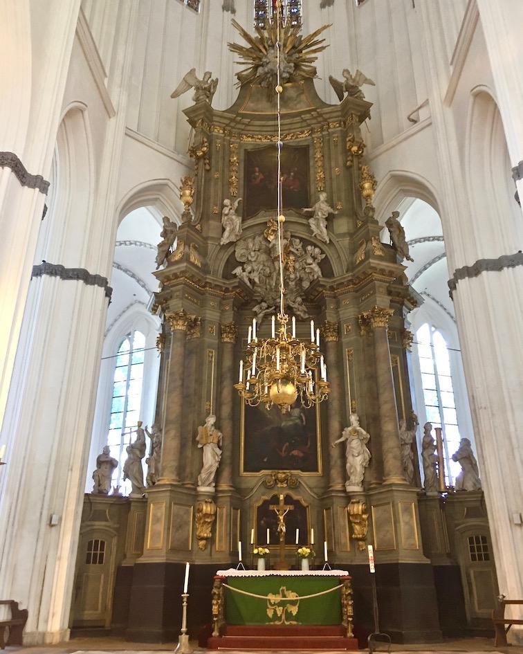 Marienkirche Rostock Hauptaltar