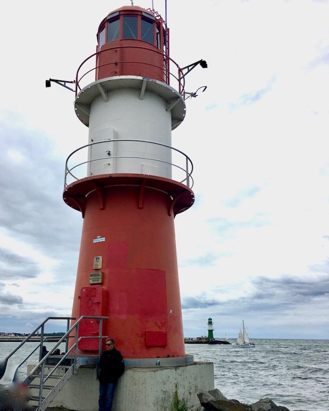Molenfeuer Ostmolenfeuer Warnemünde-Rostock Deutschland