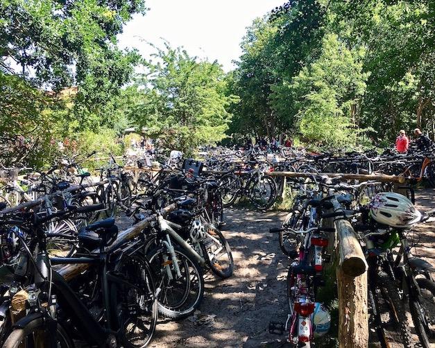 Prerow Darßer-Ort Fahrrad parken