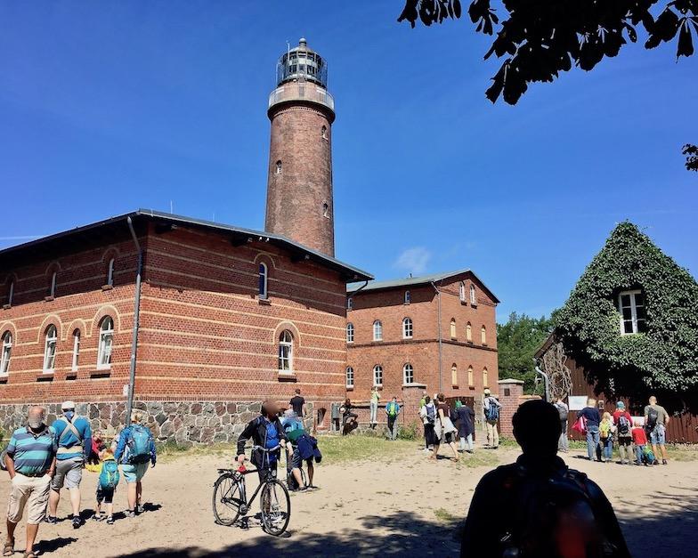 Prerow Darßer-Ort Leuchtturm im Natureum