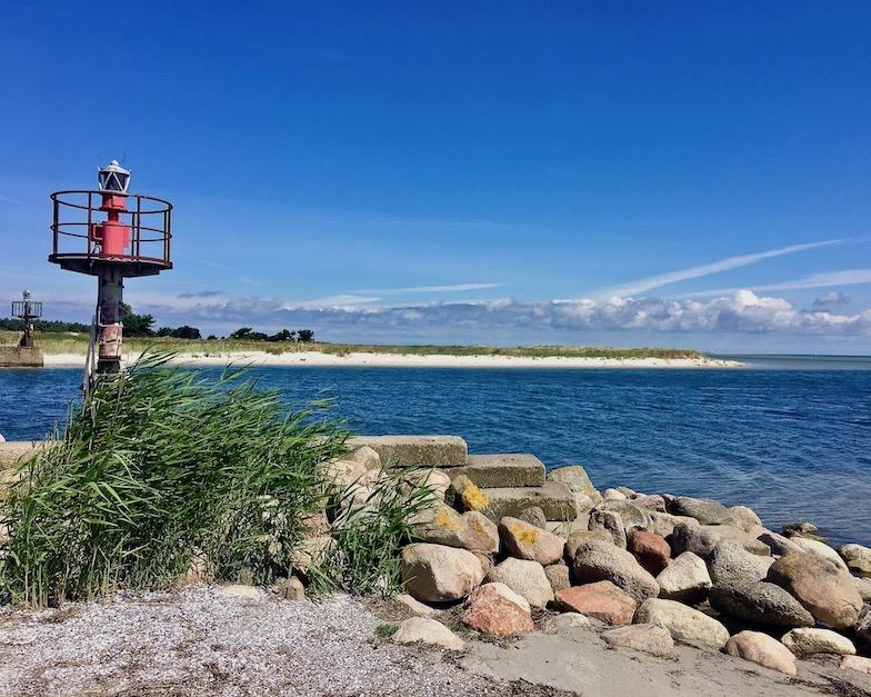 Prerow Darßer-Ort Nothafen Hafeneinfahrt