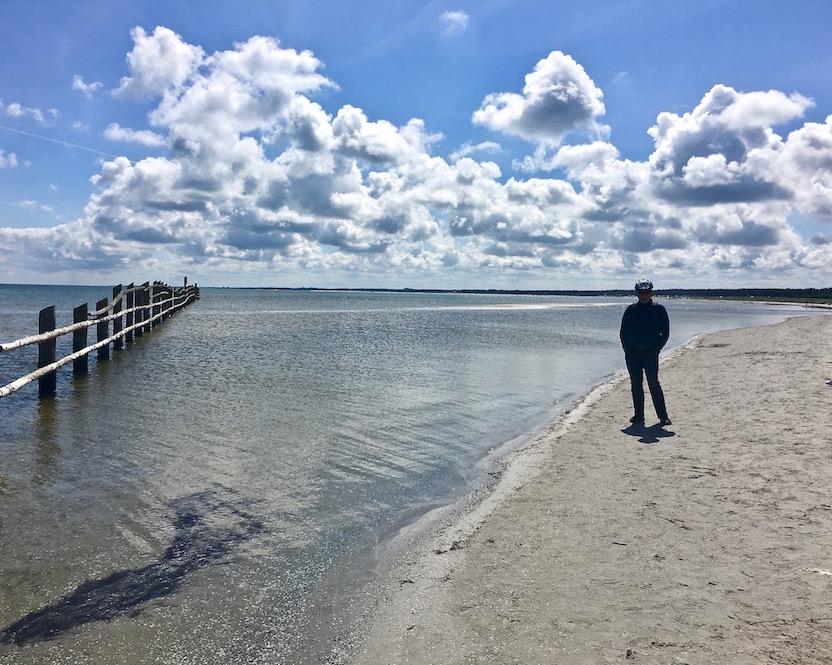 Prerow Darßer-Ort Nothafen Strand