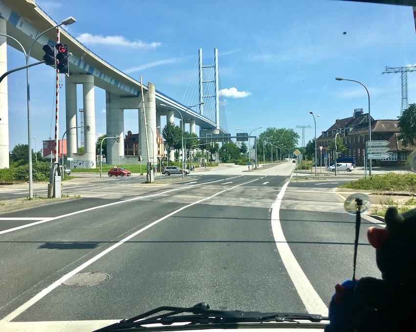 Rügenbrücke Stralsund Deutschland