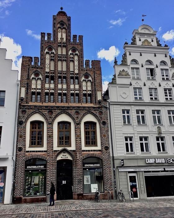 Ratschow-Haus Rostock Stadtbibliothek Rostock Deutschland