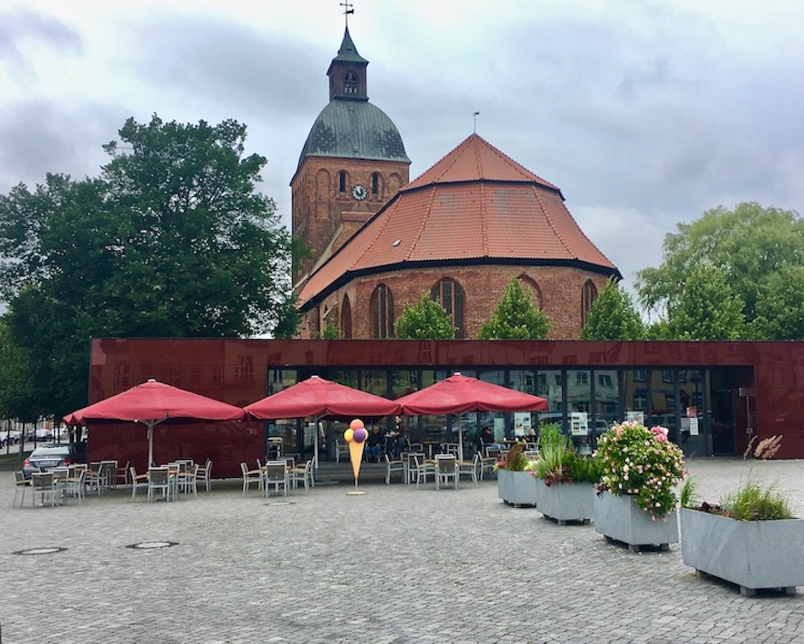 Ribnitz-Damgarten Marienkirche von Ribnitz Deutschland