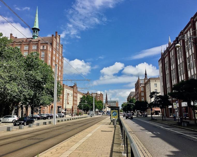 Rostock Lange Straße Rostock Deutschland