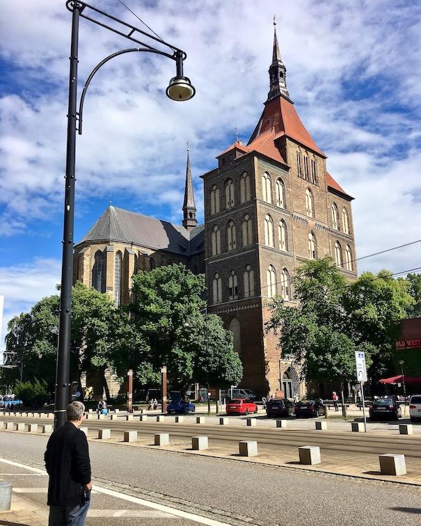 Rostock Marienkirche Rostock Deutschland