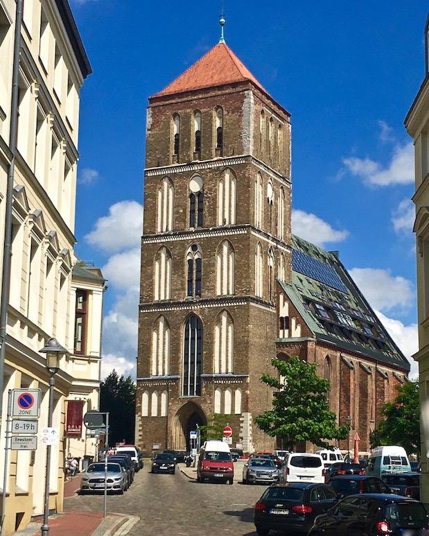Rostock Nikolaikirche Rostock Deutschland