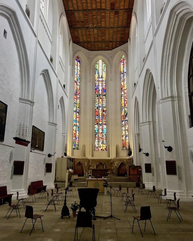 Rostock Petrikirche Innenraum Rostock Deutschland