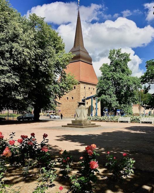 Rostock Vom Rosengarten zum Steintor Rostock Deutschland