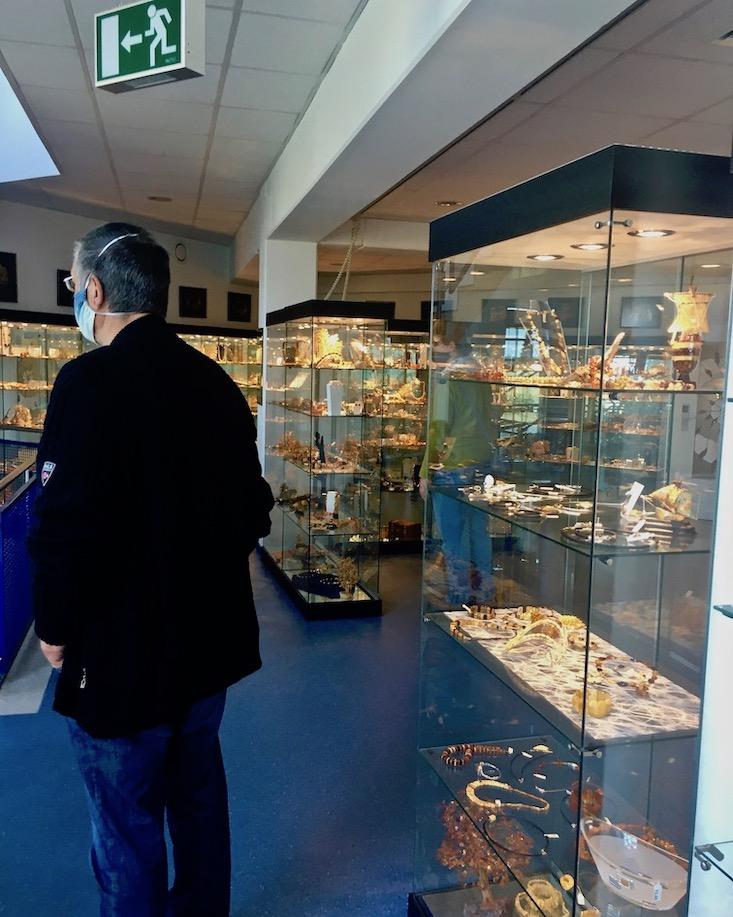 Schaumanufaktur Ostsee-Schmuck Ausstellung Ribnitz-Damgarten