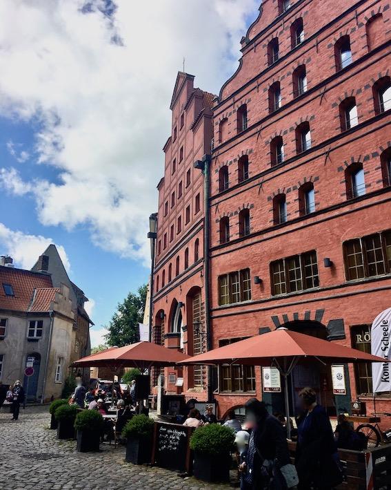 Scheelehof Stralsund Kontor Scheele Stralsund Deutschland