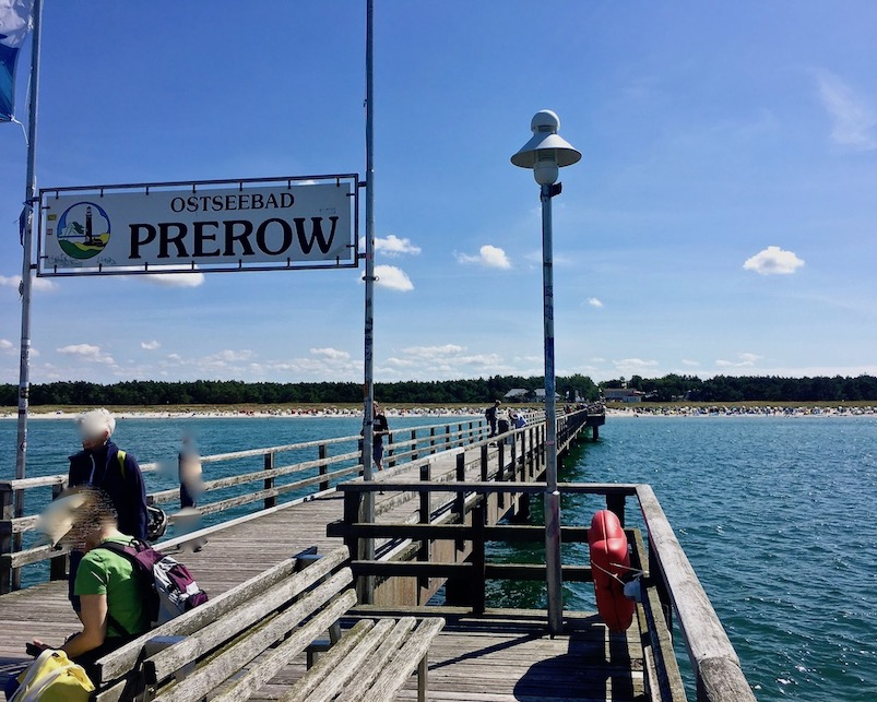 Seebad Prerow auf dem Darß Seebrücke