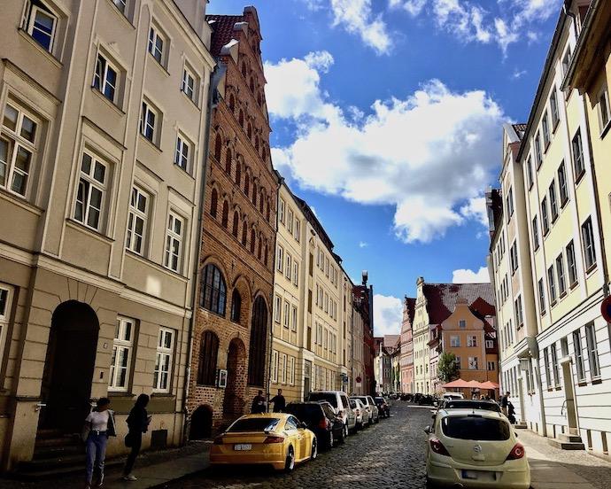Semlowerstraße Stralsund Deutschland