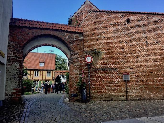 St.Johanniskloster Stralsund Eingangstor Stralsund Deutschland