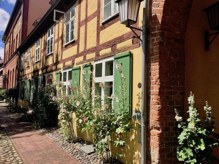 St.Johanniskloster Stralsund Innenhof Stralsund Deutschland