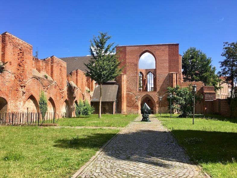 St.Johanniskloster Stralsund Ruine der Kleinen Johanniskirche Stralsund