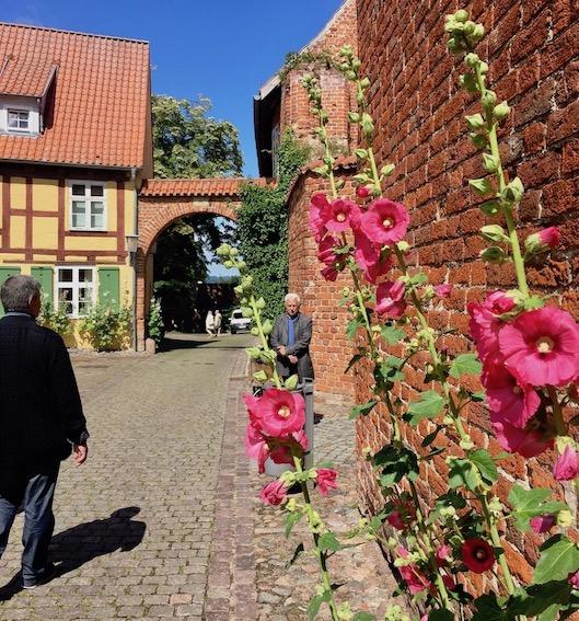 St.Johanniskloster Stralsund zum Innenhof Stralsund Deutschland