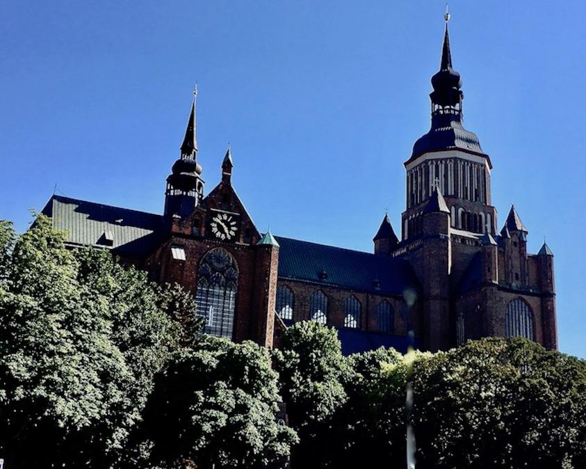 St.Marienkirche Stralsund Deutschland UNESCO-Weltkulturerbe