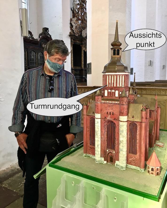 St.Marienkirche Stralsund Miniaturmodell