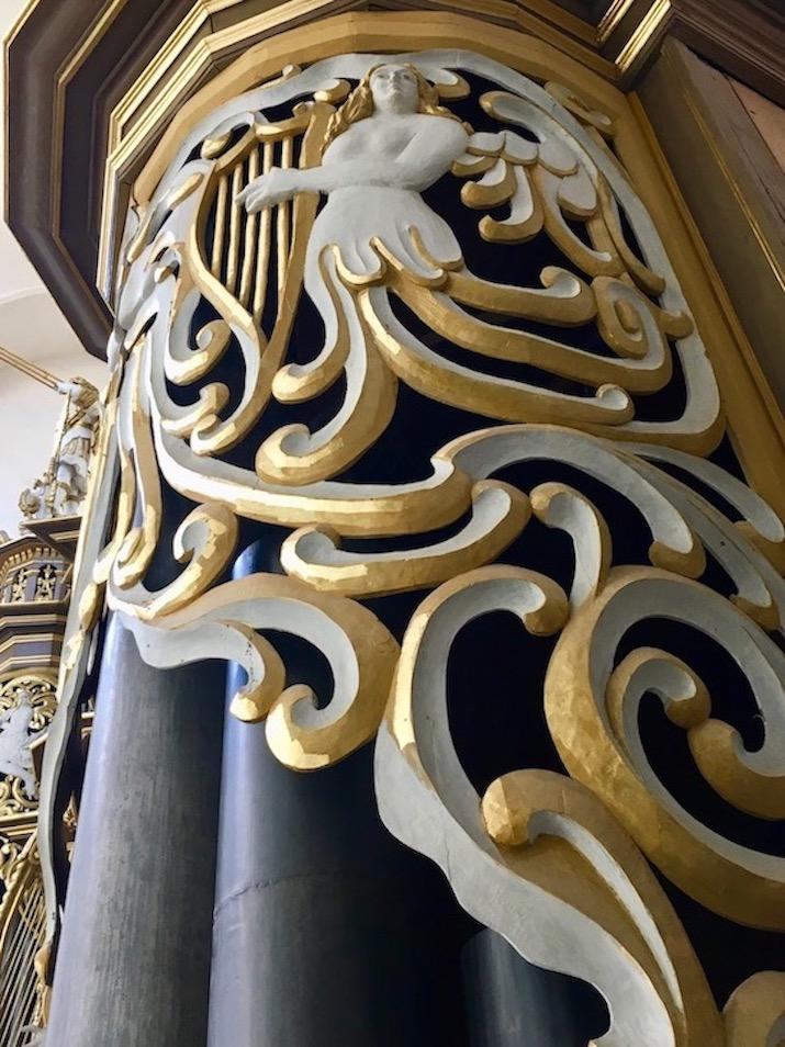 St.Marienkirche Stralsund Orgel Detailbild