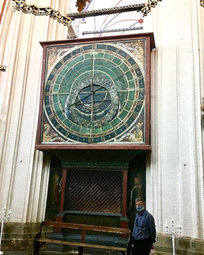 St.Nikolai-Kirche Stralsund Astronomische-Uhr Stralsund Deutschland