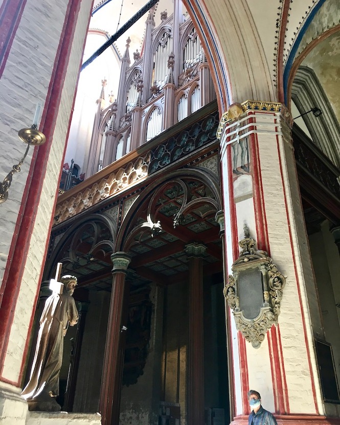 St.Nikolai-Kirche Stralsund Buchholz-Orgel Stralsund Deutschland