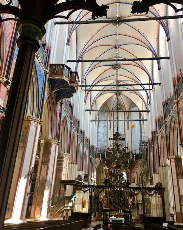 St.Nikolai-Kirche Stralsund Hochchor Doppelhochaltar Stralsund Deutschland