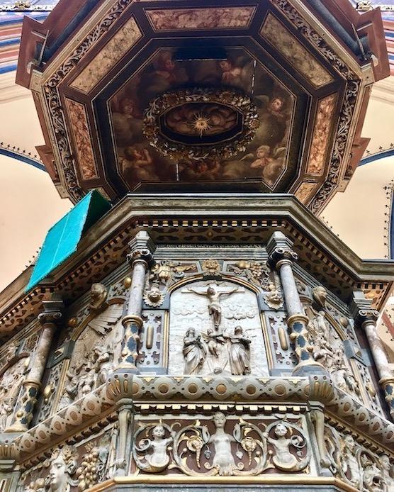 St.Nikolai-Kirche Stralsund Kanzel von 1611 Stralsund Deutschland