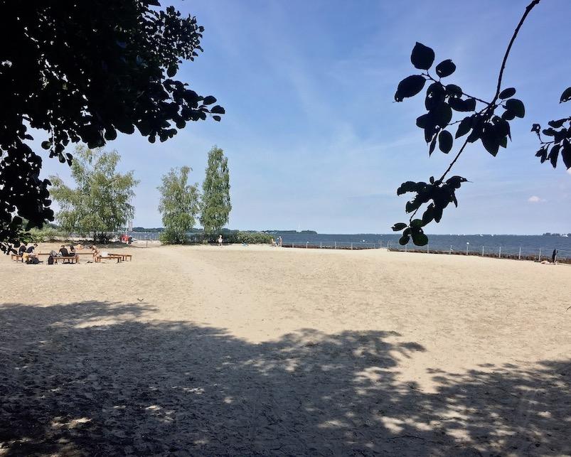 Strand von Stralsund am Strelasund Stralsund Deutschland