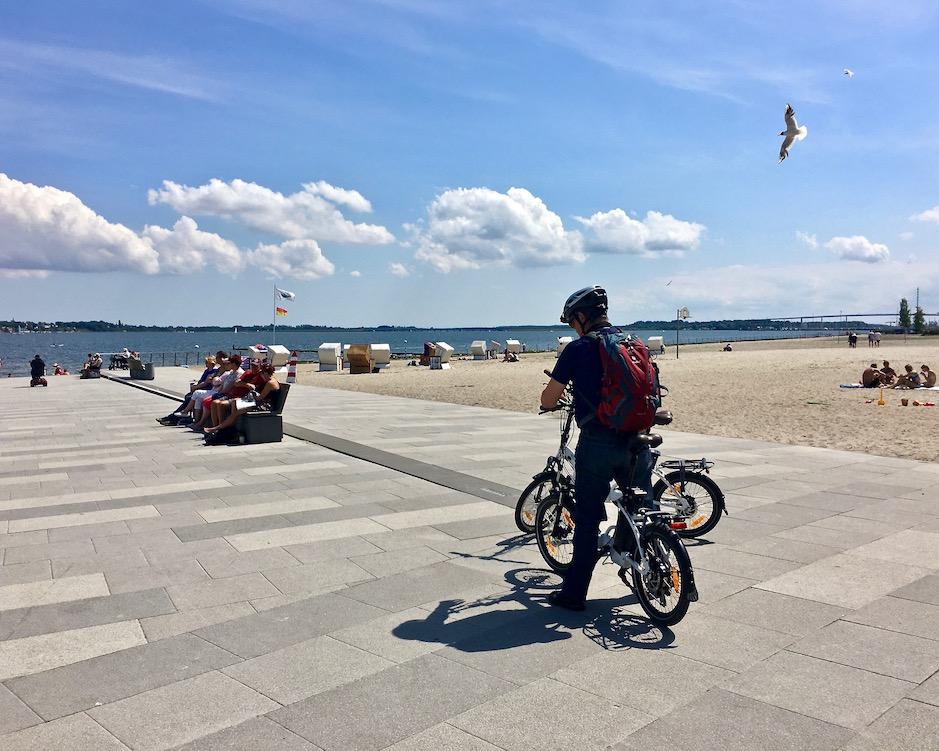 Strand von Stralsund am Strelasund