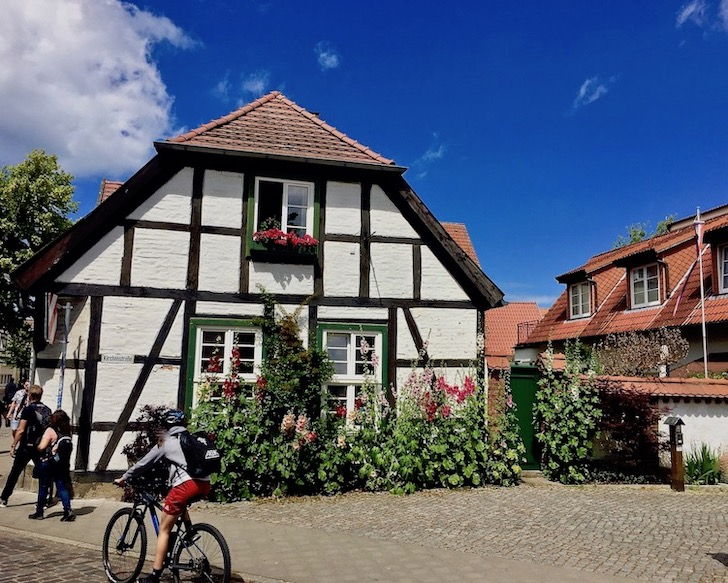 Warnemünde Häuser Achterneeg Altstadt Warnemünde Deutschland
