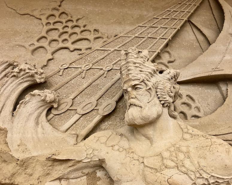 Warnemünder Sandwelt Detail Warnemünde Deutschland