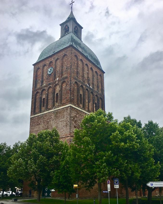 Westturm Marienkirche von Ribnitz Ribnitz-Damgarten Deutschland