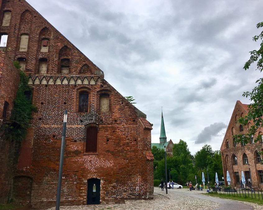 Wirtschaftsgebäude und Kornhaus Klosteranlage Bad Doberan Deutschland