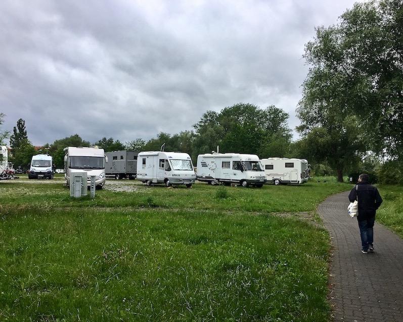 Wohnmobilstellplatz Gänsewiese Ribnitz-Damgarten Deutschland
