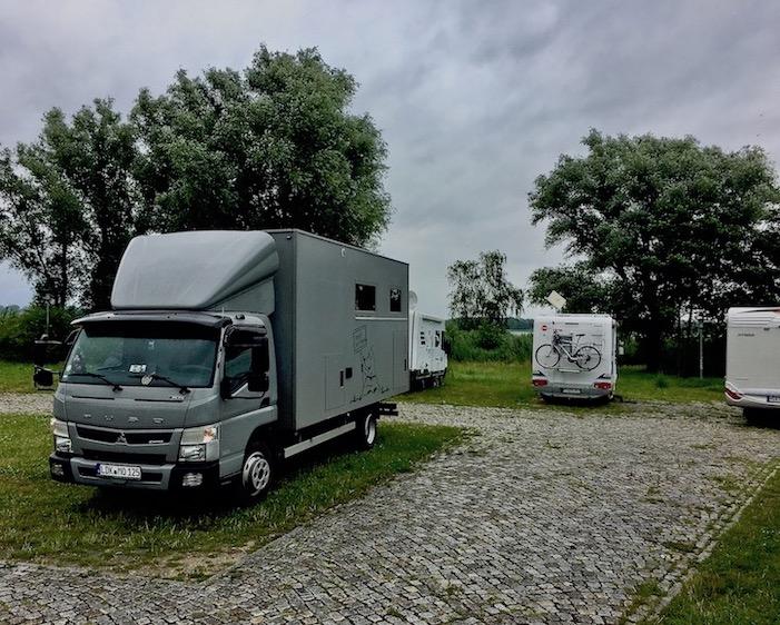 Wohnmobilstellplatz Gänsewiese mit mole-on-tour Ribnitz-Damgarten Deutschland