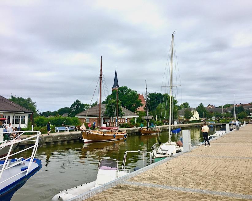 Wustrow-Hafen Wustrow-Fischland Deutschland