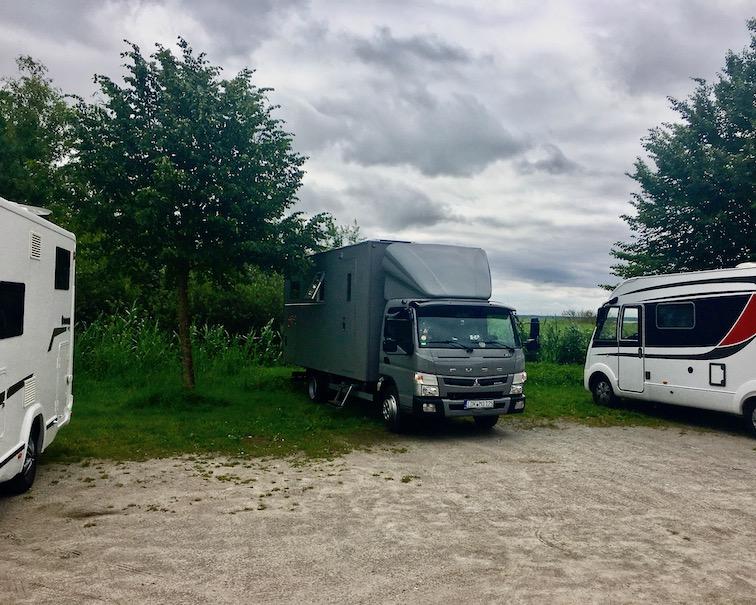 Wustrow Wohnmobilstellplatz mit mole-on-tour Wustrow-Fischland Deutwchland