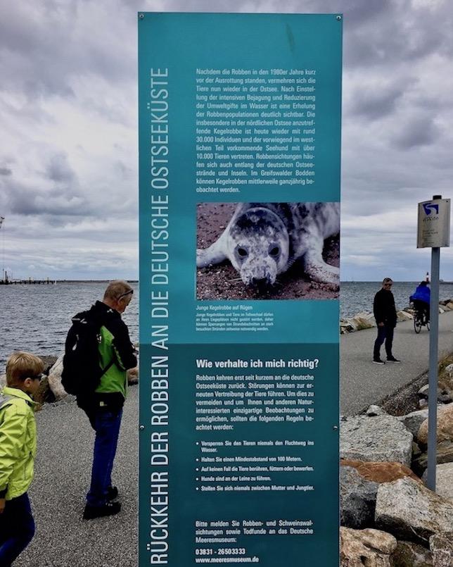 Zum Robbenforschungszentrum Warnemünde-Rostock
