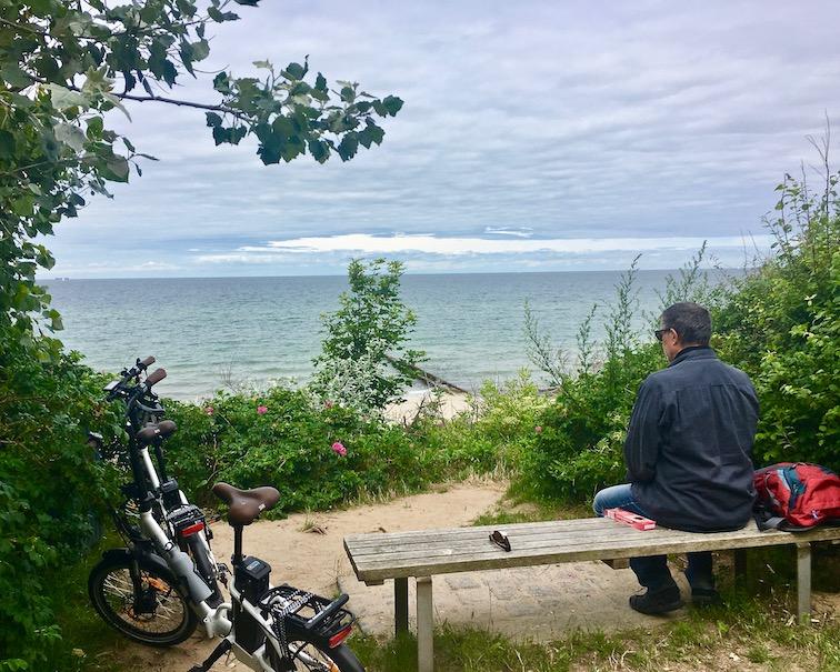 an der Fischland-Steilküste zwischen Ahrenshoop und Wustrow Deutschland