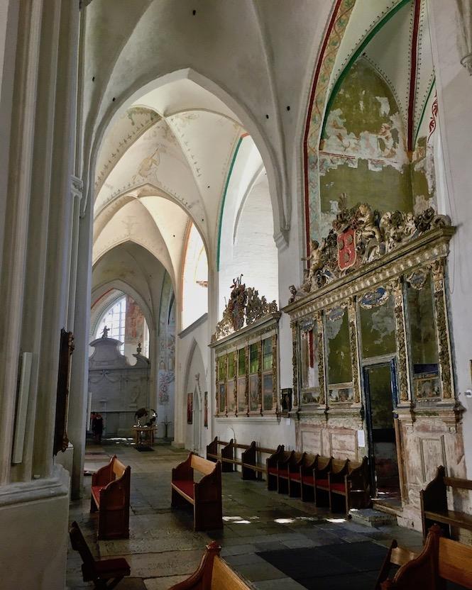 Hansestadt Greifswald Deutschland Dom St.Nikolai Seitenschiff