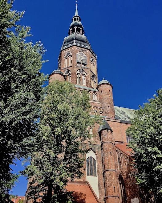Hansestadt Greifswald Deutschland Dom St.Nikolai