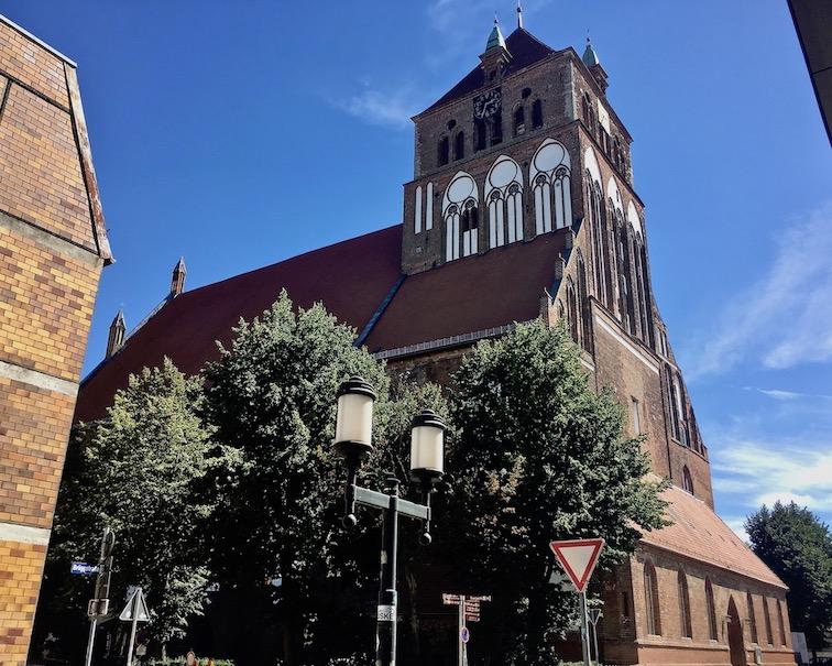 Hansestadt Greifswald Deutschland St.Jacobi Kirche