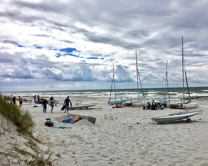 Hiddensee Ostseestrand bei Vitte
